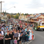 Golden Horseshoes festival grand parade