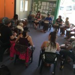 Djembe class with Ibou Ngom