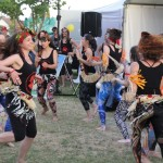 African dance at Coburg Night Markets