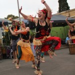 African dance at Make Noise Festival