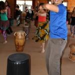 Dundun dance with Naby Bangoura