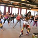 Sabar dance class with Lamine Sonko