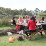 Lunchtime at Camp Samatou