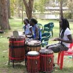 Senegalese drummers