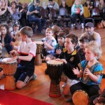 Kids drumming workshop with Shabba