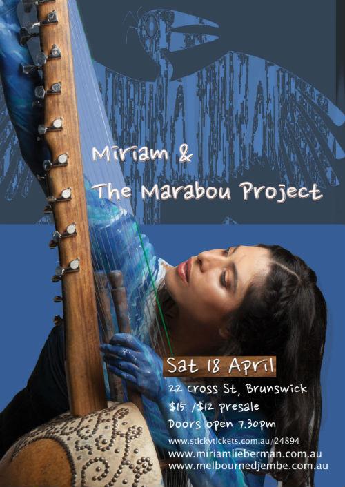 Miriam Lieberman playing kora