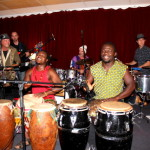 African drummers and Marabou